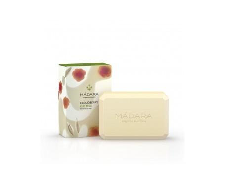 Mádara jabón coroporal y manos con leche de avena y mora 150g
