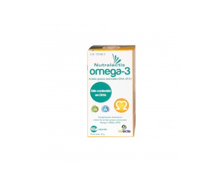 Nutralactis Omega 3 60cáps