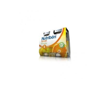 Nutribén® zumo de 3 frutas 2udsx130ml