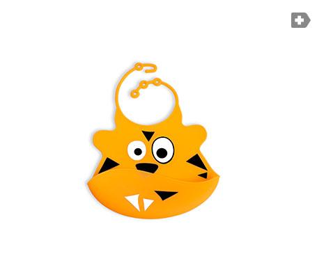 Neon Kids babero color naranja 1ud