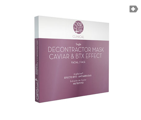 Segle Clinical Decontractor mascarilla caviar 3uds