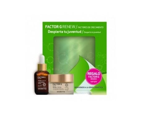 Sesderma Pack Factor G Renew crema regeneradora & sérum facial
