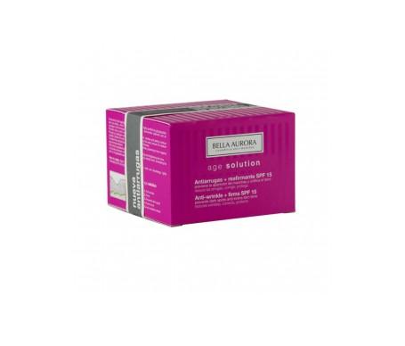 Bella Aurora Age Solution crema antiarrugas y reafirmante SPF15+ 50ml