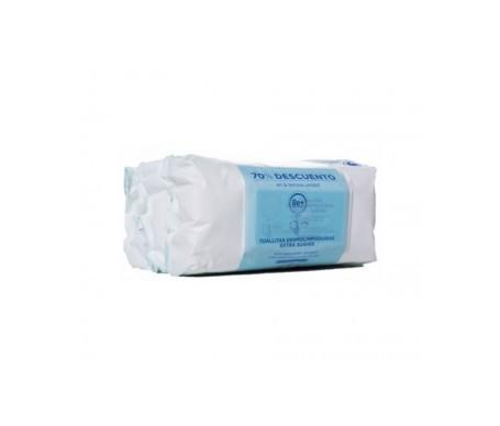 Be+ Pediatrics toallitas dermolimpiadoras extra suaves 3x72uds