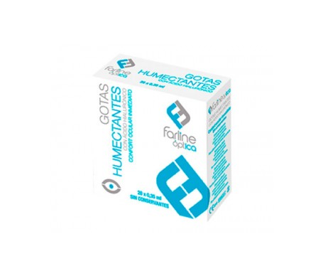 Farline gotas humectantes ácido hialurónico 20 monodosis