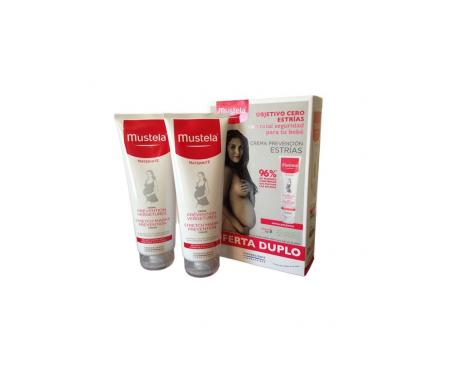 Mustela crema prevención de estrías 2x250ml