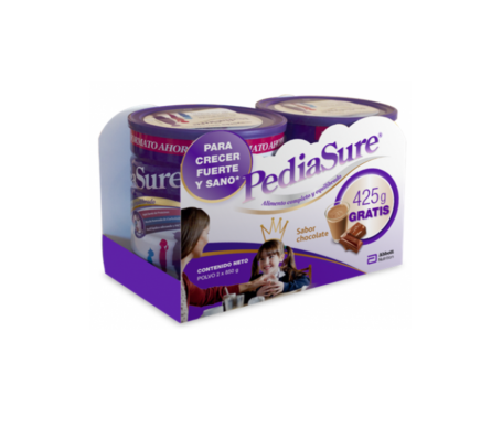 PediaSure polvo sabor chocolate 850g+850g