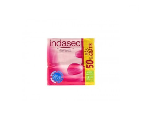 Indasec® Discreet Normal Pérdidas Leves 24+12Uds