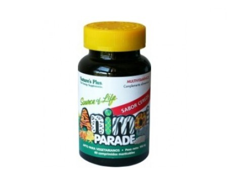 Nature's Plus Animal Parade sabor cereza 60comp