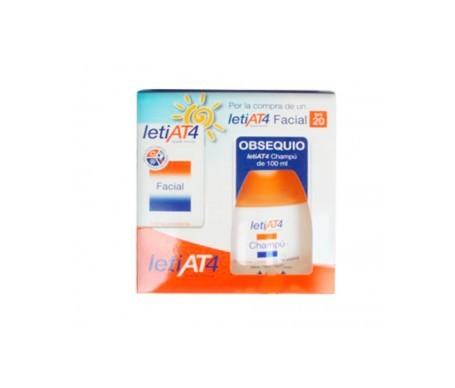 LetiAT4 crema facial SPF20+ 50ml + obsequio champú 100ml