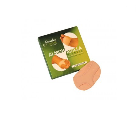 Sanator silicone foot pads Size 37/38 1 pair