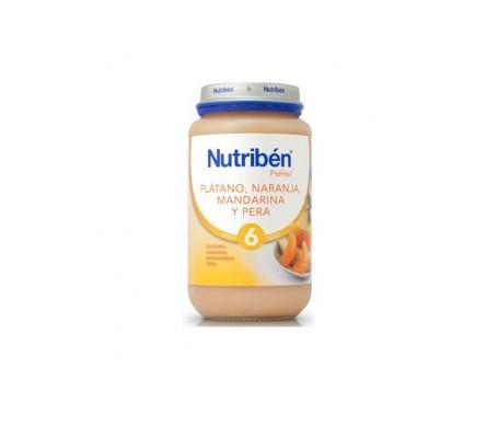 Nutribén® plátano, naranja, mandarina y pera 250g