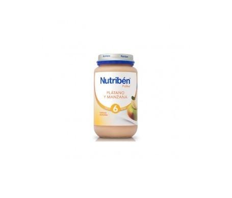 Nutribén® plátano y manzana 250g
