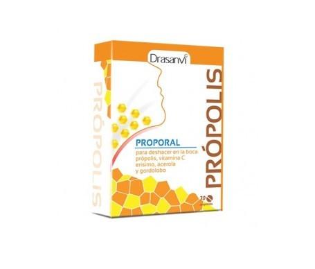 Drasanvi própolis oral masticable 30comp