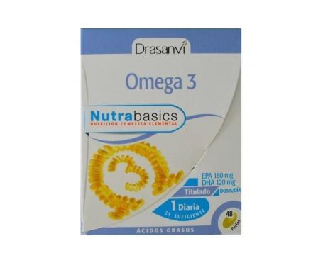 Drasanvi omega 3 48 perlas