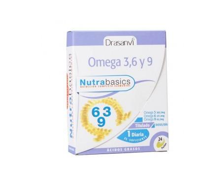 Drasanvi Omega 3-6-9 24 perlas