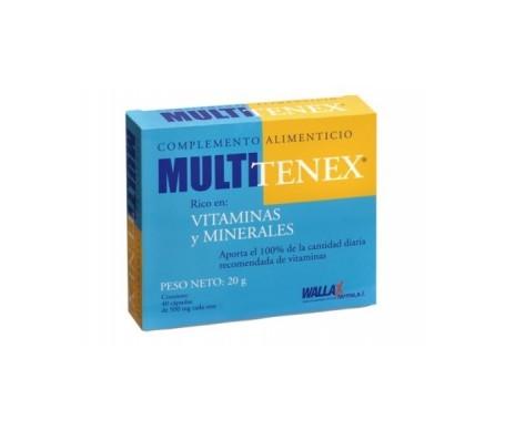 Wallax Multitenex 40cáps