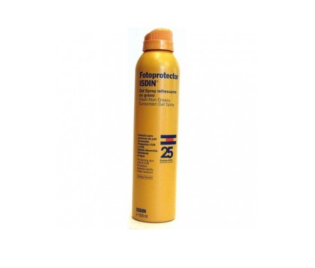 Fotoprotector ISDIN® gel spray transparente SPF25+ 200ml