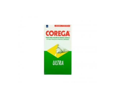 Corega Ultra adhesivo prótesis dental polvo 100g