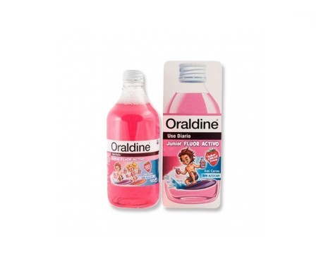 Oraldine Junior enjuague bucal 400ml