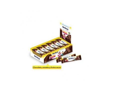 Meritene Junior barritas chocolate leche-cereales 6uds