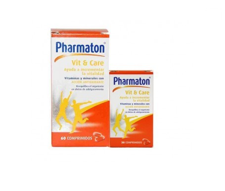 Pharmaton® Vit & Care 60comp+30comp