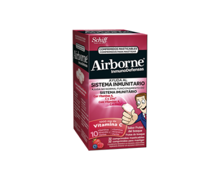 Airborne Forest fruits 32 chewable tablets