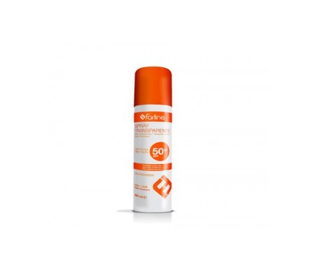 Farline Spray Solar Transparente SPF50+ 200ml