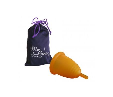 MeLuna coupe menstruelle taille M couleur orange bâton fini orange 1 pc
