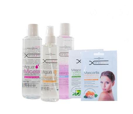 Xensium pack limpieza facial
