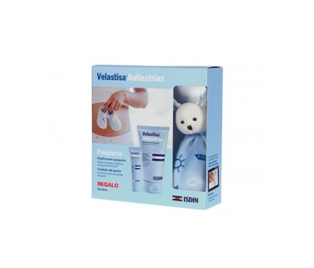 Isdin® Velastisa® Pack  Antiestrías cuidado del pezón 30ml + reafirmante postparto 150ml
