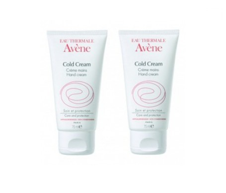 Avène Cold Cream crema de manos 50ml+50ml