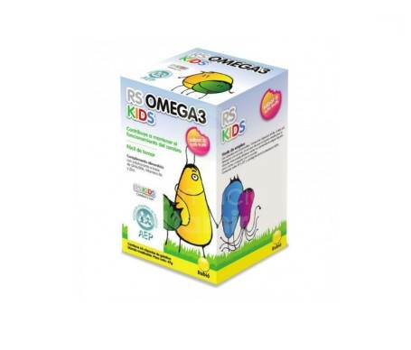 Rs Omega 3 Kids 60cáps