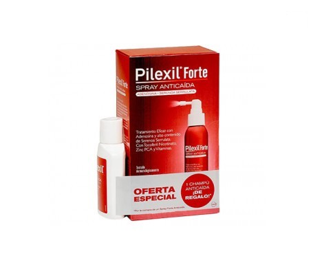 Pilexil® Pack anticaída spray 120ml + champú 100ml