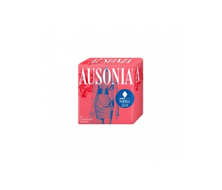 Ausonia® Air Dry compresa normal alas 14uds