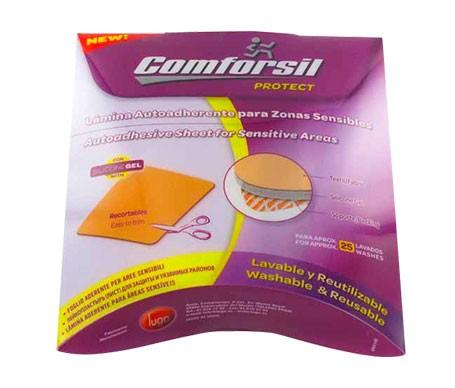 Comforsil silicona lámina adhesiva protectora 4uds