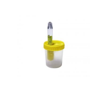 Aposán envase recogida orina estéril con tubo de ensayo 1ud