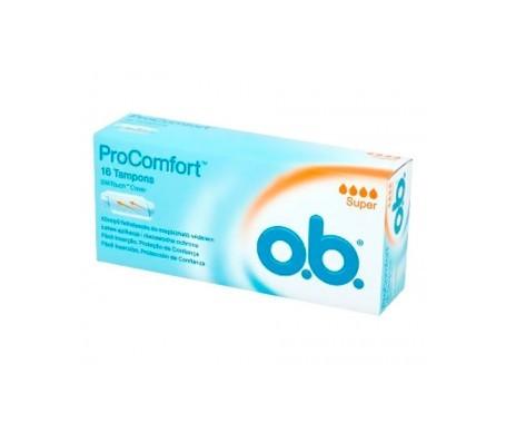 Procomfort OB Super 16 Tampons Procomfort OB Super 16