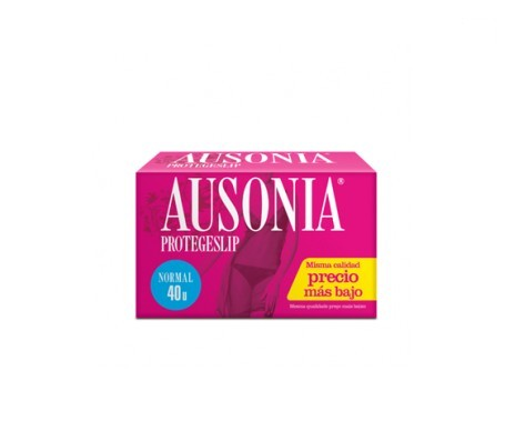 Ausonia® protegeslip normal 40uds