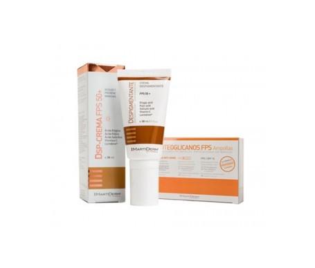 Martiderm® Proteoglicanos SPF15+ 30amp + crema despigmentante 30ml
