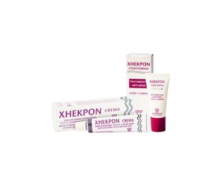 Xhekpon® crema facial 40ml + contorno de ojos 15ml