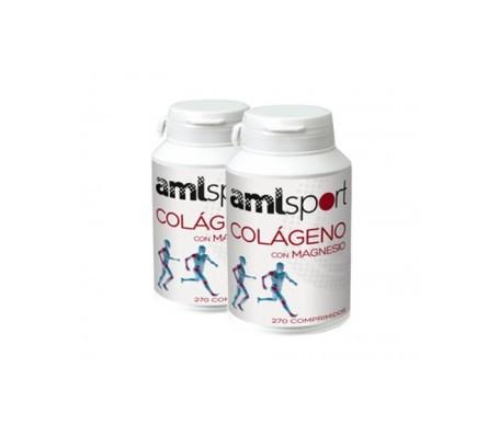 Amlsport colágeno con magnesio 270comp+270comp