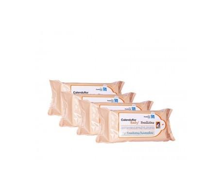 Calenduflorbaby® toallitas 72udsx4uds