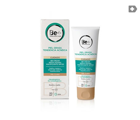 Be+ BB crema reguladora matificante SPF20+ 40ml