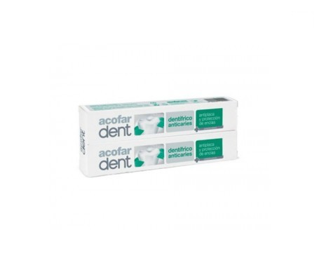 Acofardent dentífrico anticaries 75ml+75ml