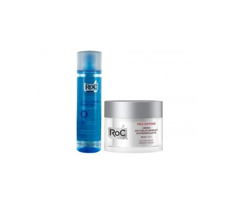 ROC PRO-DEFINE PACK FIRMING CREAM 50 ML + EYE MAKE-UP REMOVER LOTION 125 ML