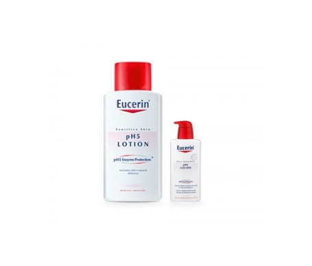Eucerin® loción pH5 1l + loción pH5 200ml