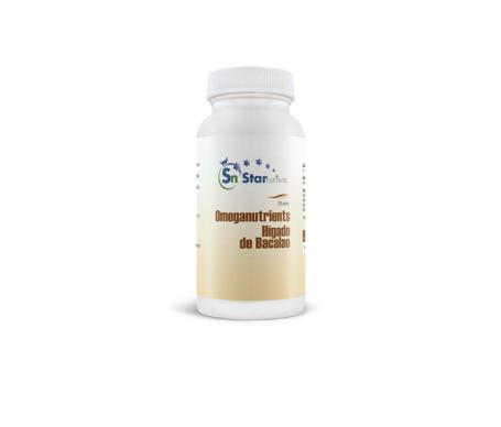 Star Nutrients Omeganutrients hígado de bacalao 125 perlas