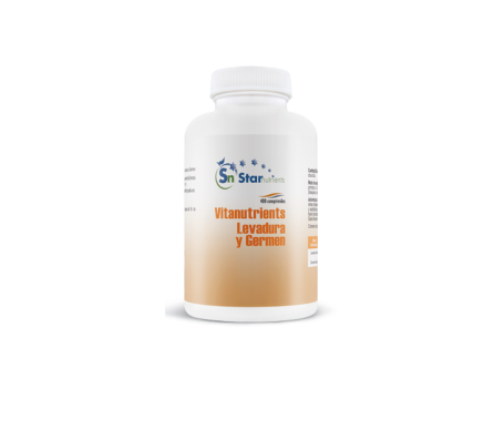 Vitanutrients levadura y germen 400comp
