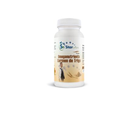 StarNutrients Omeganutriments Omeganutriments germe de blé 500mg 125 perles
